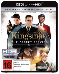 Kingsman: The Secret Service on Blu-ray, UHD Blu-ray, UV