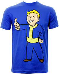 Fallout: Vault Boy Thumbs Up T-Shirt (Small) image