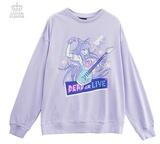 Danganronpa: Mioda Dead or Live Sweatshirt - Lavender