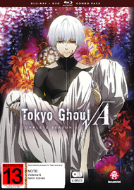 Tokyo Ghoul Root A Complete Season 2 Limited Edition (DVD/BR) on DVD, Blu-ray