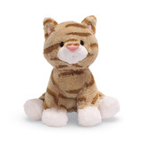 Gund: Animal Chatter Cats Plush - Tan Striped