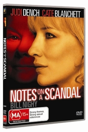 Notes On A Scandal on DVD image