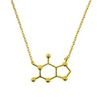 Short Story: Gold Molecule - Necklace