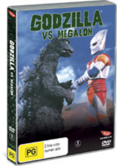 Godzilla Vs Megalon on DVD