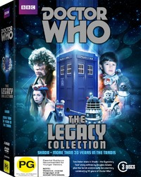 Doctor Who: Legacy on DVD