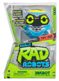 Really Rad Robots: Yakbot - YB.01 Blue