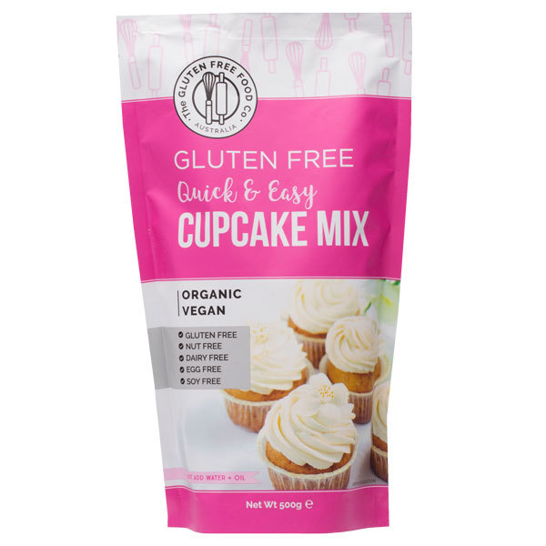 Gluten Free Cupcake Mix (500g)