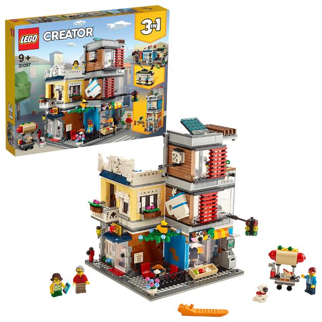 LEGO Creator: Townhouse Pet Shop & Cafe - (31097)