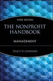 The Nonprofit Handbook by Tracy D. Connors image