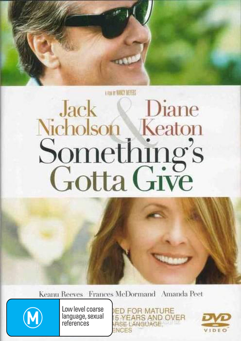 Something's Gotta Give on DVD