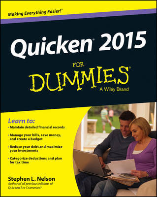 Quicken 2015 For Dummies by Stephen L. Nelson