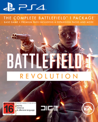 Battlefield 1 Revolution Edition for PS4