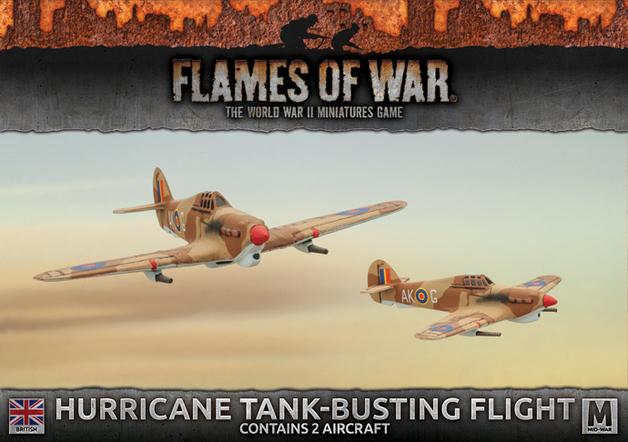 Flames of War: Desert Rats - Hurricane Tank-Busting Flight