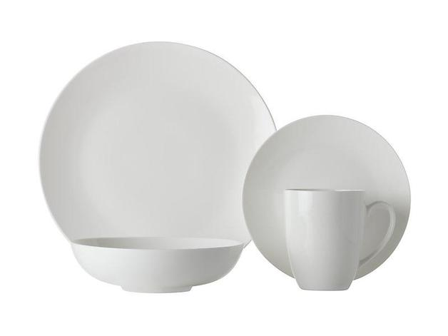 Maxwell & Williams White Basics Fitzrovia Coupe Dinner Set