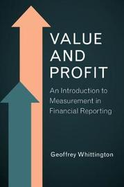Value and Profit by Geoffrey Whittington