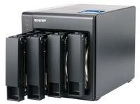 QNAP TS-431X-2G NAS, 4BAY (NO DISK), 2GB, AL-212 QC, USB, GbE(2),10GbE SFP+(1), TWR, 2YR image