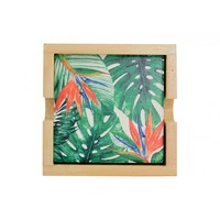 Annabel Trends Ceramic Coaster Set - Tropical Birds