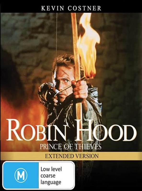 Robin Hood: Prince Of Thieves - Extended Version on DVD