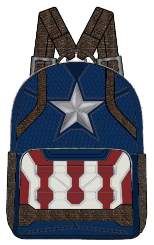 Loungefly: Avengers 4: Endgame - Captain America Costume Mini Backpack