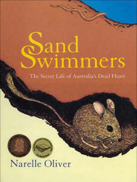 Sand Swimmers: The Secret Life of Australia's Dead Heart by Narelle Oliver image