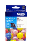 Brother Ink Cartridge LC77XLC (Cyan)