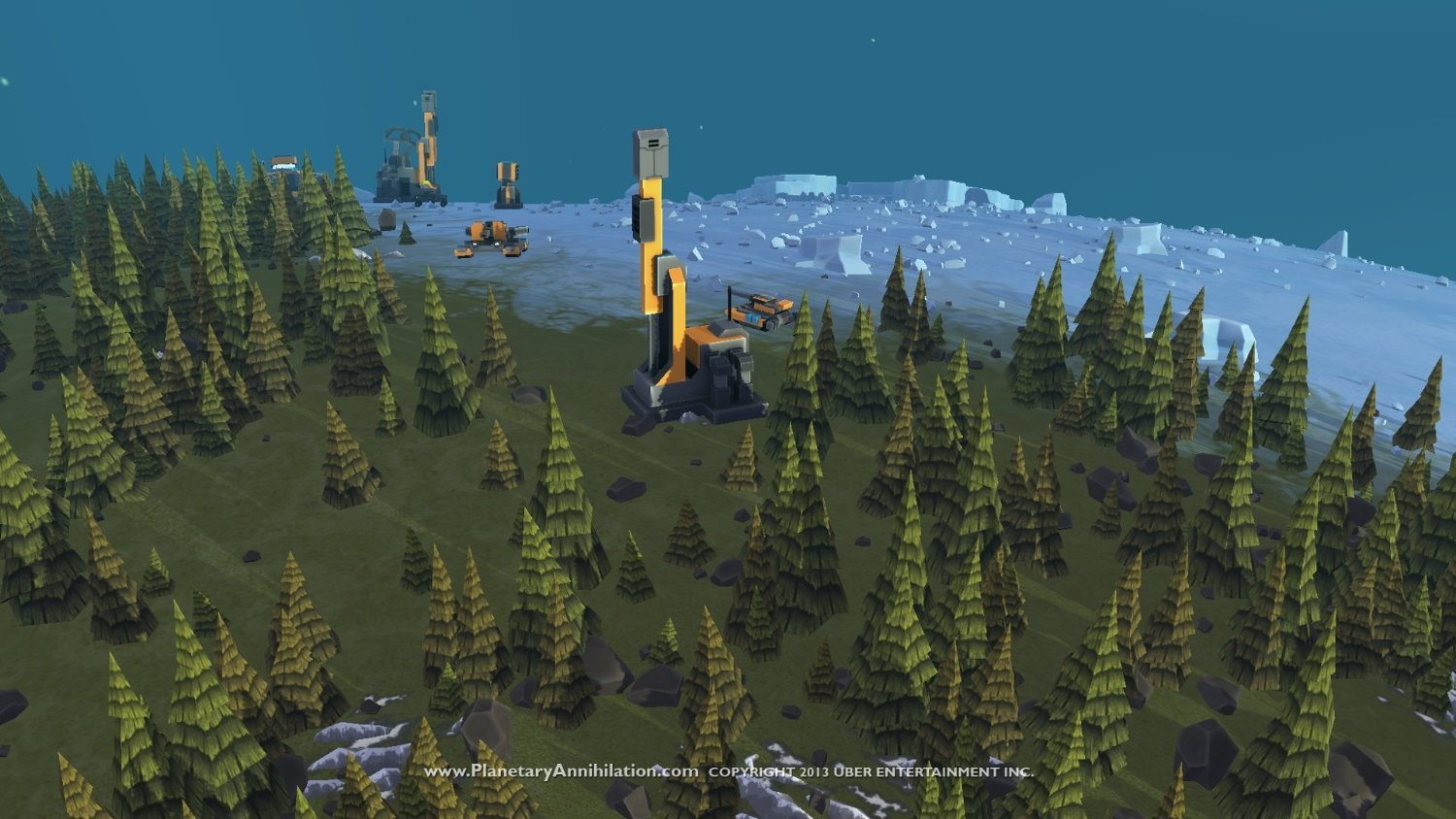 Planetary Annihilation for PC Games image
