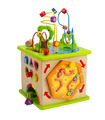 Hape - Country Critters Play Cube