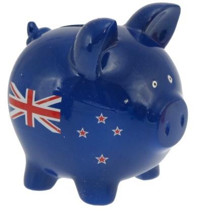 Piggy Bank - NZ Flag
