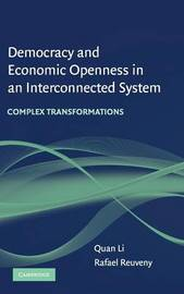 Democracy and Economic Openness in an Interconnected System by Quan Li