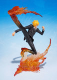 Figuarts ZERO - One Piece: Sanji (Diable Jambe) Figure