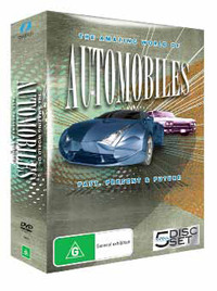 The Amazing World of Automobiles - Past, Present & Future (5 Disc Box Set) on DVD