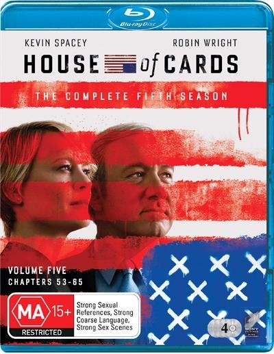 House of Cards - The Complete Fifth Season on Blu-ray