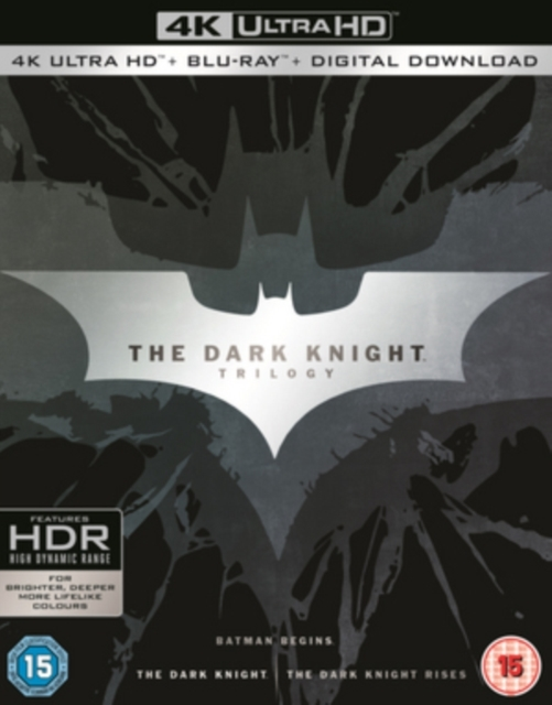 The Dark Knight Trilogy on Blu-ray, UHD Blu-ray