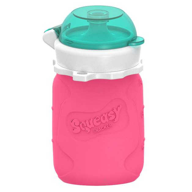 Squeasy Gear Snacker - Pink (104ml)