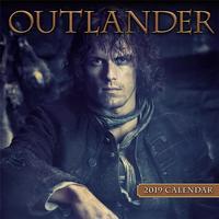 Outlander 2019 Mini Wall Calendar by Starz