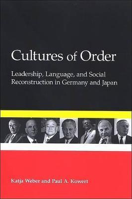 Cultures of Order by Katja Weber