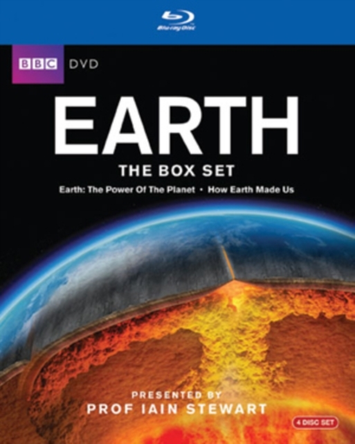 Earth The Box Set Bluray Earth Power Of The Planet How The Earth Made Us on Blu-ray