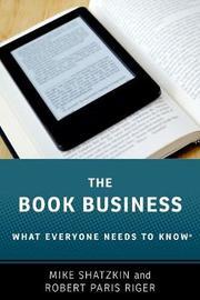 The Book Business by Mike Shatzkin