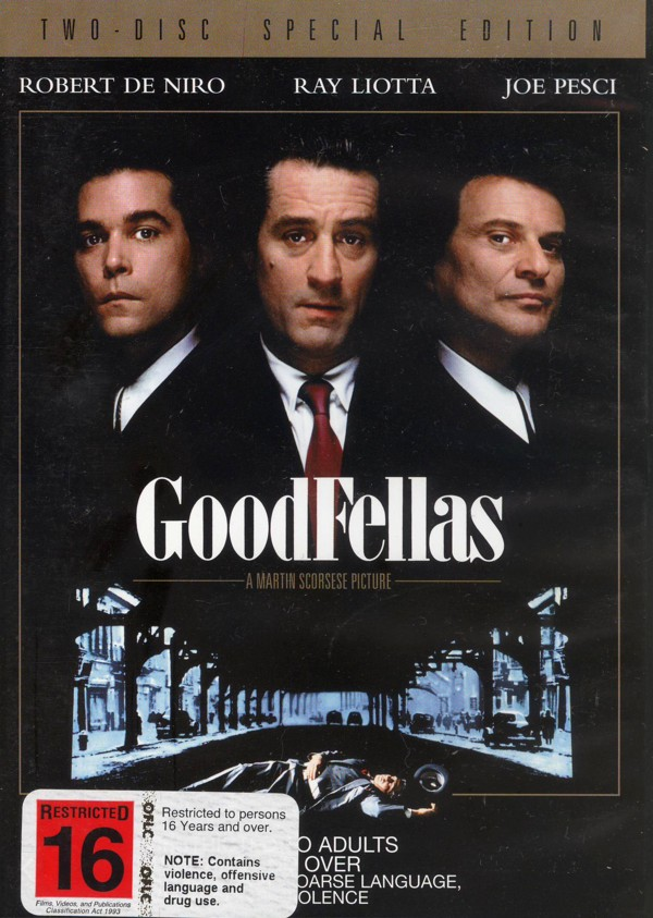 Goodfellas - Special Edition on DVD image