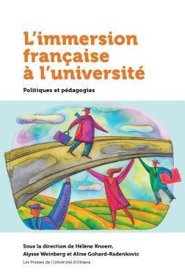 Laimmersion Franaaise a l'Universita by H'Lene Knoerr image