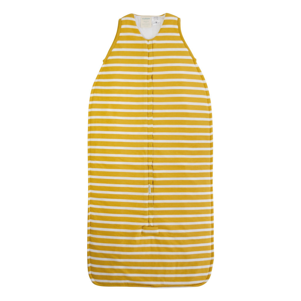 Woolbabe: Duvet Front Zip Woolbabe - Kowhai (3-24 Months) image