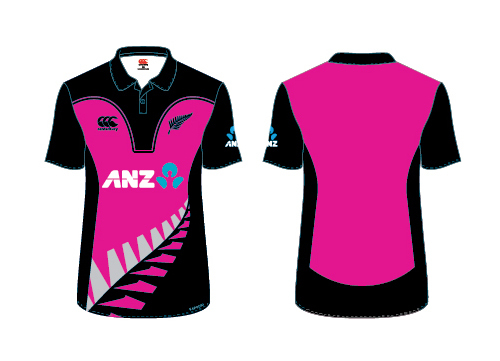 WHITE FERNS Adults T20 Replica Shirt (14)