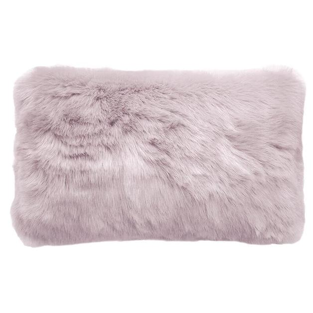 Bambury: Faux Fur Cushion - Lilac (30 x 50cm)