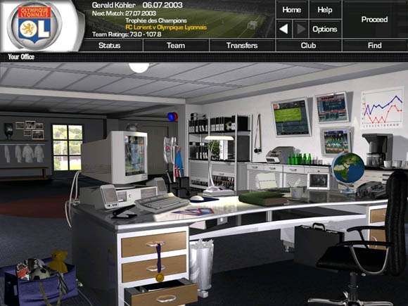 Total Club Manager 2004 for PC Games image