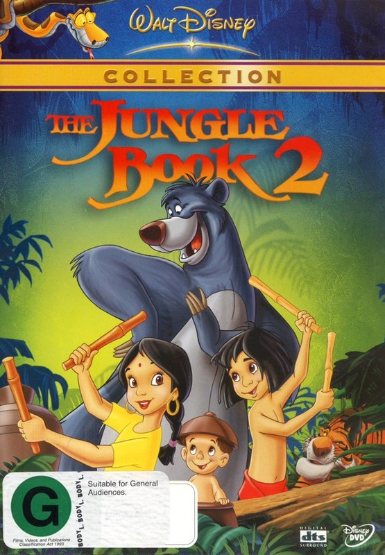The Jungle Book 2 on DVD