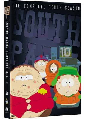 South Park - The Complete 10th Season (3 Disc Box Set)  on DVD