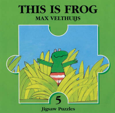 This is Frog Jigsaw Book by Max Velthuijs