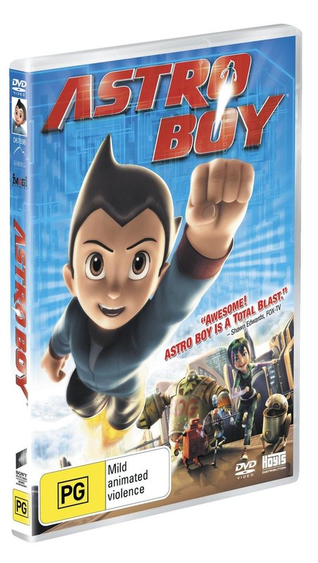 Astro Boy on DVD