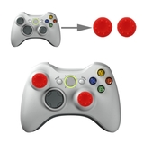 Silicone Key Protector Thumb Grip Caps for PS4 & Xbox (Red) for Xbox One