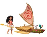 Disney's Moana: Moana & Friends - Starlight Canoe Playset